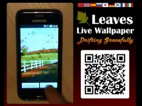 Video of Leaves Live Wallpaper Free