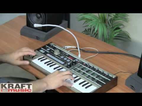 Kraft Music - Korg microKORG Demo with Rich Formidoni