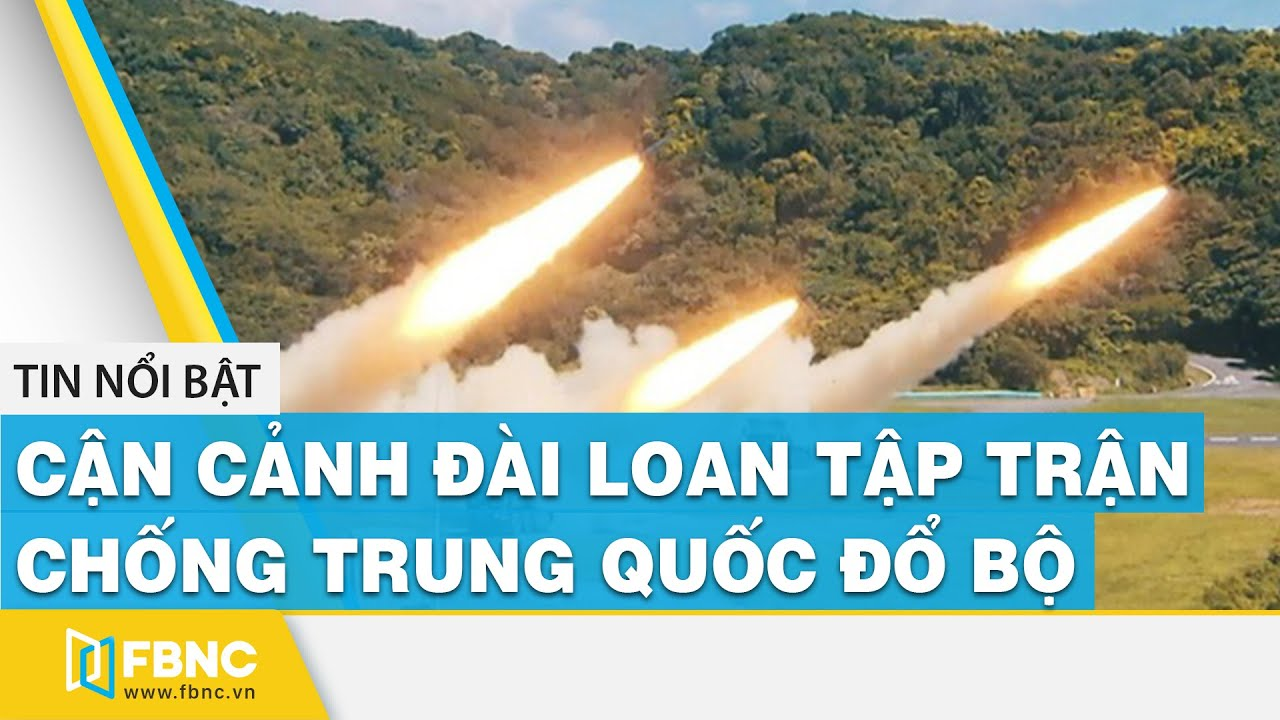 Cận cảnh Đài Loan tập trận chống Trung Quốc đổ bộ #shorts