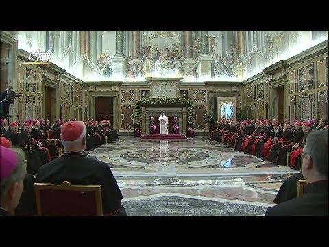 Voeux du Pape François à la Curie romaine