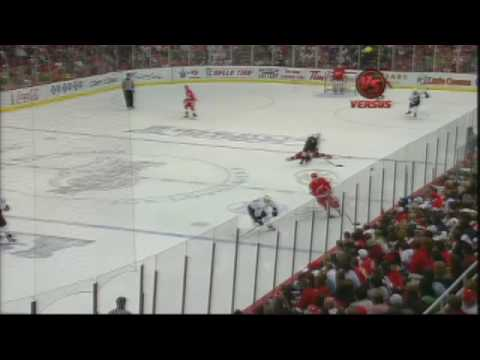 NHL HIT Of The Night Brown v. Hudler