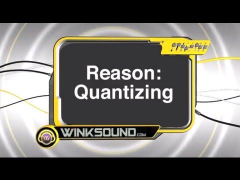 Propellerhead Reason: Quantizing MIDI Notes | WinkSound