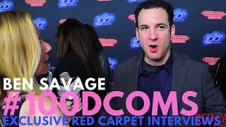 Ben Savage #GirlMeetsWorld Interviewed At VIP Screening For Adventures In Babysitting #100DCOMs