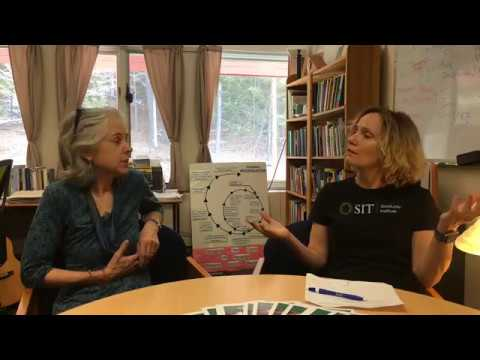Master's in TESOL (low-residency) with Prof. Leslie Turpin and Mary Kay Sigda