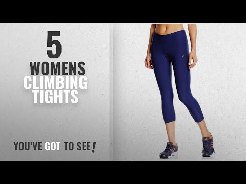 Top 10 Womens Climbing Tights [2018]: adidas Performance Womens Ultimate 3/4 Tight 8-10