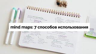 как я использую интеллект-карты в учёбе и планировании | Mind Maps