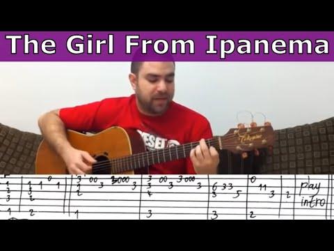 aquarela do brasil guitar tab