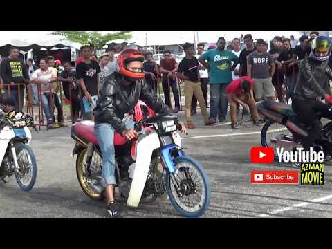 Download Drag Bike 4T 120cc Cup Prix Drag Racing Kubang Menerong May 2018 HD Mp4 3GP Video and MP3