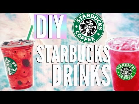 Video DIY Summer Starbucks Drinks | Easy Recipes for Cheap | Courtney Lundquist