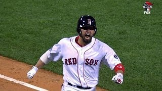 Red Sox jump in front on Victorino's slam