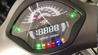 New: SIP Digital Speedometer /Rev Counter for new Vespa GTS available now!!