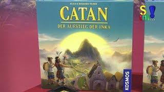 Kurzerklärung zu CATAN - DER AUFSTIEG DER INKA - Spielwarenmesse 2018