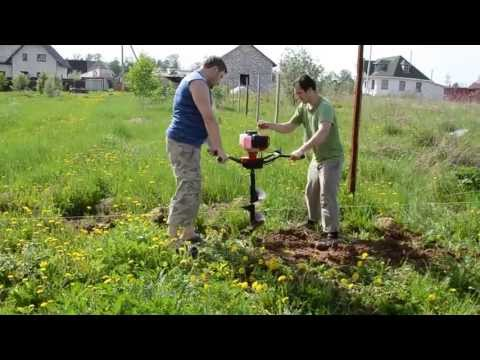 Обзор Мотобура ADA Ground Drill 9