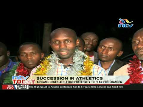 Former marathon World record holder Kipsang urges Athletics fraternity to plan for changes.