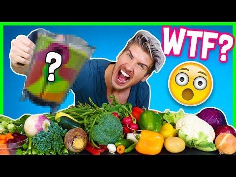 MIXING EVERY VEGETABLE TOGETHER!  - TASTE TEST