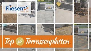 Top 10 Terrassenplatten 2021 | unsere schönsten Terrassenplatten aus Feinsteinzeug in 2 cm Stärke