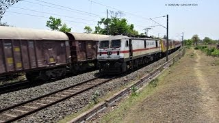 preview picture of video '01:00  12303 Poorva Express with a DD EOG Car'