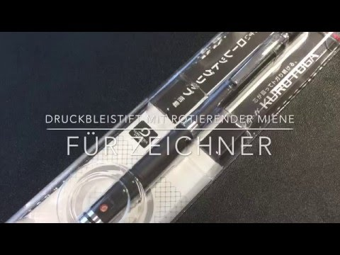 Druckbleistift mit rotierender Miene im Test – Uni Kuru Toga Roulette Model