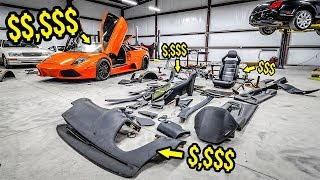 """Here's How Much It Costs To Fix My """"Cheap"""" Lambo's DESTROYED Interior (100% WORTH IT!)"""