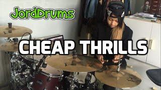 Cheap Thrills - Sia ft Sean Paul - Drum Cover   JordDrums