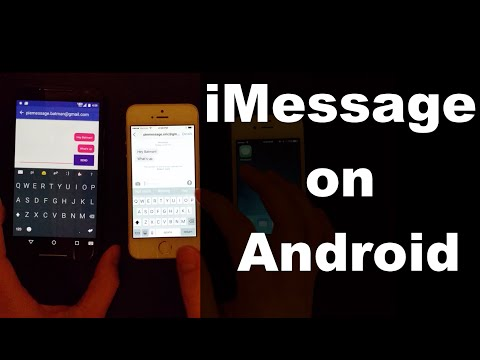 PieMessage Brings iMessage To Android, Using A Mac As A Server