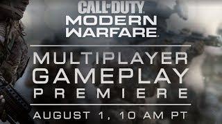 Modern Warfare Multiplayer Gameplay Reveal! 2v2 Mode (Call Of Duty Modern Warfare Gameplay Trailer)