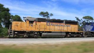 FEC Train Number 202-1 July 2010