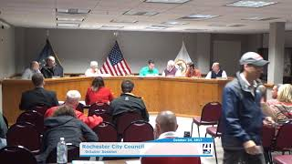 Rochester City Council Meeting - October 2017