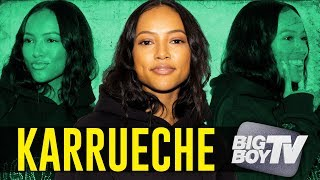 Karrueche on Her Movie 'Never Heard', New Relationship, Makeup line & A lot more!