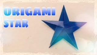 DIY Trang trí Giáng Sinh - Cách xếp ngôi sao bằng giấy (Origami)