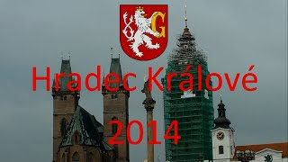 preview picture of video 'Hradec Králové 2014'