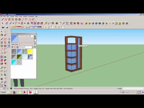 Tutorial Sketchup Bahasa Indonesia Membuat Jendela Sudut Mp3