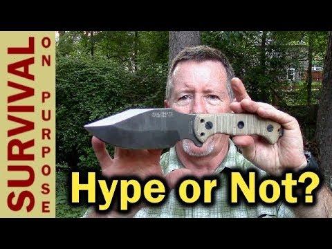 Ultimate Survival Tips MSK1 Survival Knife Review – Long Term Testing Begins