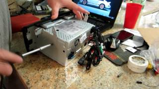 Installation Guide for Eonon Car DVD GPS 5151 Mazda 3 2004-2009