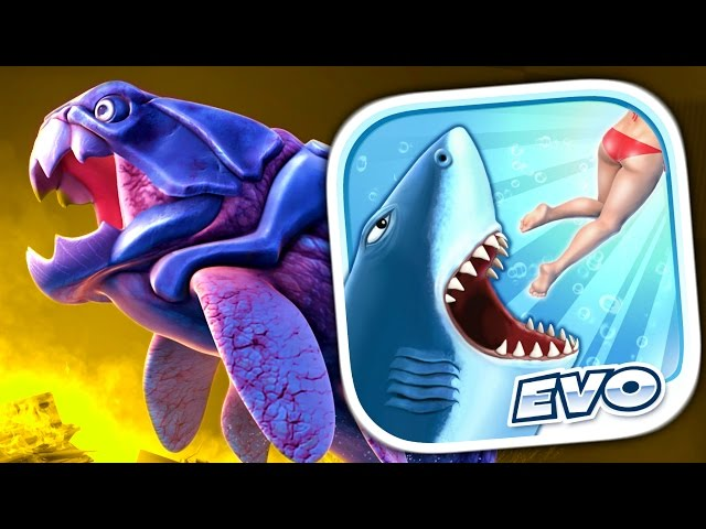 BIG DADDY (DUNKLEOSTEUS) - Hungry Shark Evolution - Part 8 (iPhone Gameplay Video)