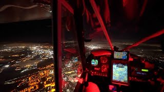 Beautiful Night VFR Flying In SoCal! FlyOVERLAND Ep.15