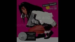 "Donna Summer - Eyes (7"" Single Remix) LYRICS SHM ""Cats Without Claws"" 1984"