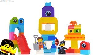 LEGO Movie 2 Visitors from the DUPLO Planet set review! 10895