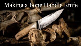 Making a Bone Handle Knife