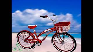 Beach Cruiser Basket Liner by GreenLine Bicycles.wmv