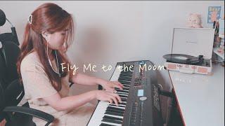 🦑 오징어 게임에 나왔던 재즈곡 🦑 'Fly Me to the Moon' - Jazz Piano (재즈 피아노)