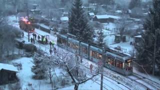 preview picture of video 'Graz - Abnahmefahrt Schleife Laudongasse - 28.11.2010 - BirdView'