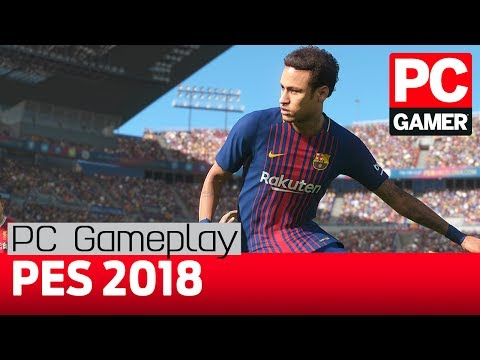 Gameplay de Pro Evolution Soccer 2018