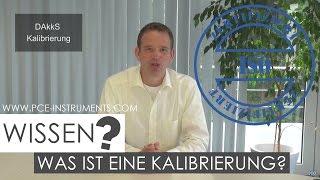 Was ist eine Kalibrierung und welche Unterschiede gibt es? | PCE Instruments