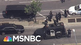 NYPD At Scene Of Shooting At Bronx Hospital | MSNBC thumbnail