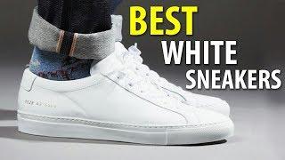BEST WHITE SNEAKERS 2018   MEN'S SUMMER SHOES   Alex Costa