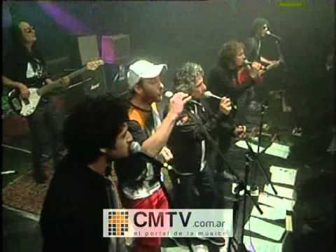 El Negro García López video Nada de nada con Los Tipitos y Chucky de Ipola - CM Vivo 09/05/2012
