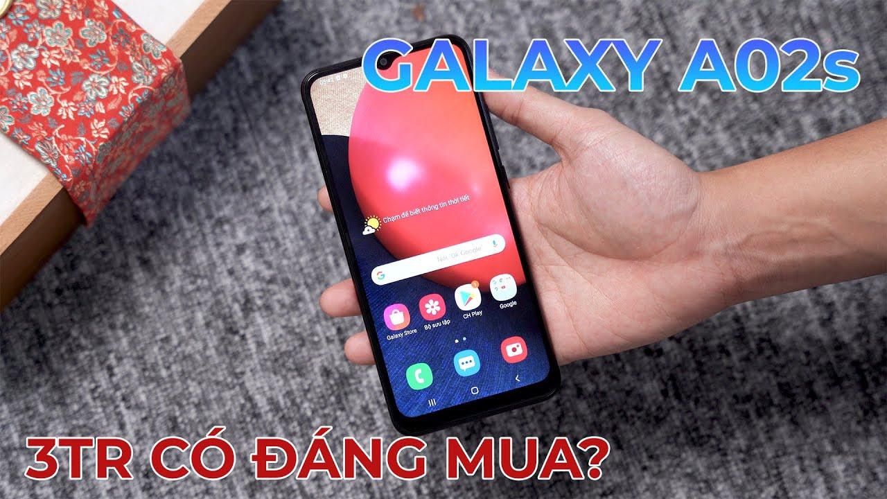 Samsung Galaxy A02s Pin trâu liệu có đáng mua?