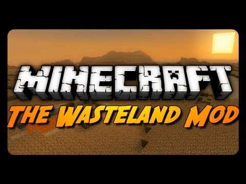 Minecraft Mod Review: THE WASTELAND MOD!
