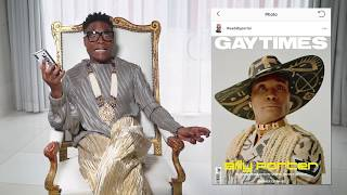 Billy Porter reacts to your best and worst comments on his red carpet looks